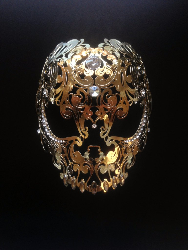 a filigree mask